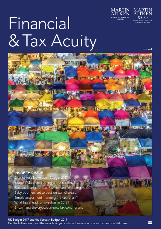 Financial & Tax Acuity Winter 2017-18